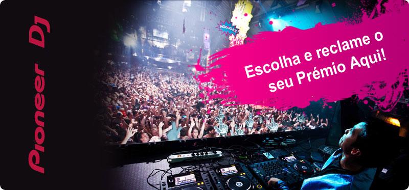 Promoção Prepara-te para o Verão para DJ da Pionner